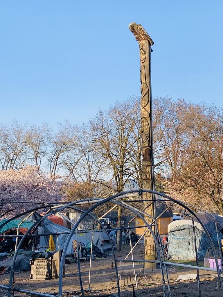 Oppenheimer Park Totem